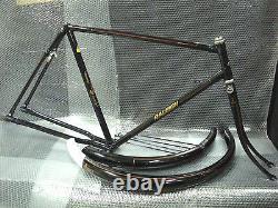 Vintage Bicycle RALEIGH DL1 FRAME set 22 for 28 wheel Roadster NOS 1970s