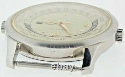 Vintage Hamilton 2495 Quartz GMT / World Time Men's Wrist Watch NOS read