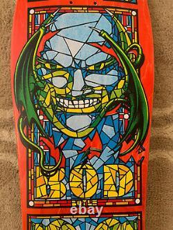 Vintage NOS 1989 Hugh Bod Boyle Santa Cruz Vintage Skateboard Deck Phillips 80s