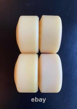 Vintage NOS Natty White T-Bone Skateboard Wheels. OG Powell Peralta T Bones