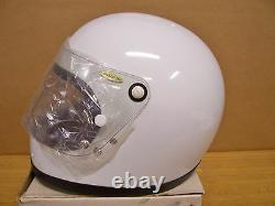Vintage NOS Shoei S12 S 12 Motorcycle Full Face White Helmet Medium