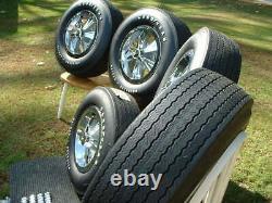 Vintage Original Hurst Mag Wheel Spinner Center Cap Goodyear Polyglas Tire GTO