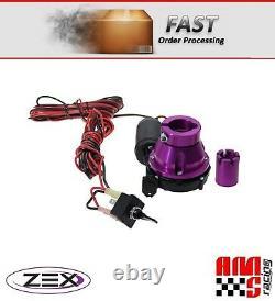 ZEX 82009 Billet Aluminum Remote Nitrous Oxide Bottle Valve Opener NOS NX N2O