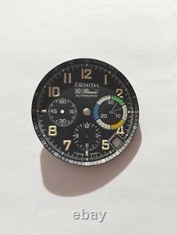 Zenith El Primero Flyback Rainbow dial NOS genuine original