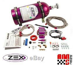 Zex 82023 75-125 HP Wet Nitrous Oxide Kit for Universal EFI V8 Engines