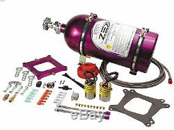 Zex 82040 100-300 HP Perimeter Plate Nitrous Kit for 4150 Flange Carburetor Carb